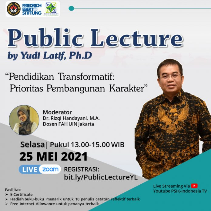 Public Lecture Yudi Latif