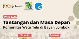 PSIK Talk Komunitas Wetu Telu